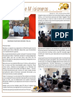 Boletin 128 Informe Misionero Italia Oct 09