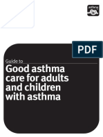 Guide to Good Asthma Care