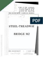 TM 5-272 1944 STEEL-TREADWAY BRIDGE M2