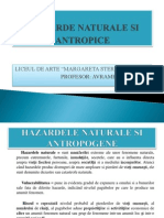 Hazarde Naturale Si Antropice Ppt Clasa a11a