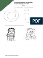 Evaluacion de Preescritura 1 Periodo PREJARDIN