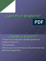 Pr101-Que Es Un Programa
