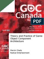 Component Based Game Design