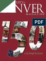 University of Denver Magazine Spring 2014