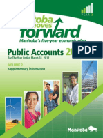 Public Accounts Manitoba 2011/12 For The Year Ended March 31, 2012