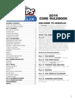 2014 HeroClix Core Rulebook
