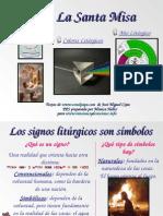 SIGNOS LITURGICOS PRESENTACION