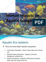 Human Impacts on Aquatic Ecosystems
