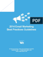 Best Practices Email Marketing 2014