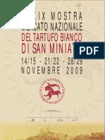 Programma Mostra Mercato Nazionale Del Tartufo Bianco Di San Miniato
