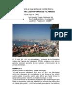 Masacre Contra Portuarios