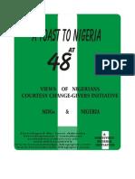 Nigeria at 48 Views From Nigeria MDGs From Ireti Adesida