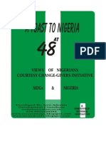 Nigeria at 48 Views From Nigeria MDGs From Ireti Adesida