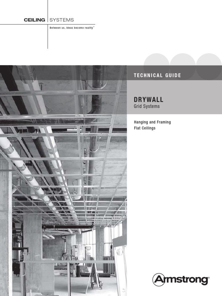 Drywall Framing Flat Ceilings Brochure   Drywall   Framing ...