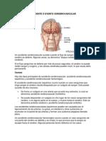 Accidente o Evento Cerebrovascular