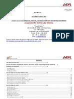 Lok Sabha 2014 Criminal and Financial Background Details of Contesting Candidates English