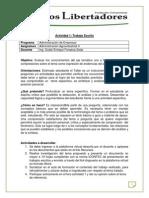 Actividad 1 -Trabajo Escrito _Agroindustria II