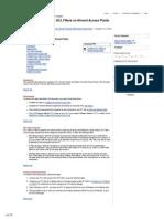 configuracion access-list aironet