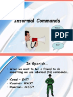 Commands Informal