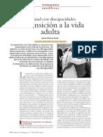 Juventud Con Discapacidades Su Transicion a La Adultez