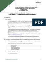 Grantee Survey Offline French November 20