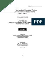 Guide for Mechanistic-empirical