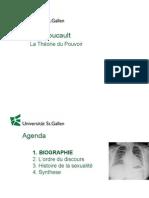 Foucault Theorie Du Pouvoir