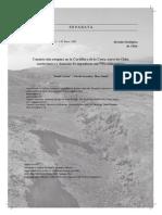 Carrizo - Constricción Neógena en La Cordillera de La Costa, Norte de Chile. Neotectónica y Datación de Superficies Con 21Ne Cosmogónico