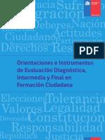 Orientaciones de Evaluacion Diagnostica Formacion Ciudadana