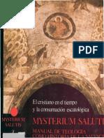 Ediciones Cristiandad - Mysterium Salutis v - El Cristiano en El Tiempo Y La Consumacion Escatologica