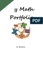 fall math portfolio