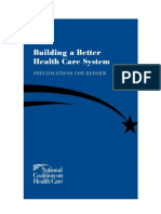 Building Abetter Healthcare System