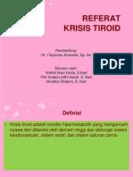 REFERAT Anestesi Krisis Tiroid Fix