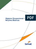 Higiene Ocupacional - Noções Básicas