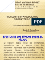 Proceso Fisiopatologico de Origen Toxico