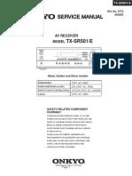 Onkyo TXSR501e Rec