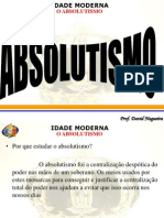 Absolutism o