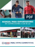 USAID PERU - Exportación de Confeciones