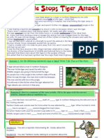 Passive Voice Reading Comprehension Text With Answers