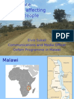 Malawi Climate Change Presentation