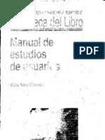 Manual de Estudios de Usuarios Elias Sanz Tirado