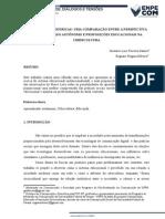 Cibercultura e Práticas de aprendizado autônomo.