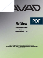 NetView Software Manual