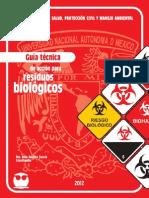 Guía Técnica de Acción Para Residuos Biológicos