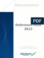 2013 Reference Form - Version 11