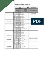 Calendarizacion i.e. 345 - 2014
