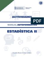 Estadistica II Actividades