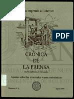 Libro de La Prensa Al Internet