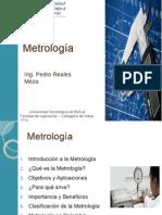 Metrología- Ing. Pedro Reales