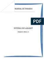 Manual Declarante